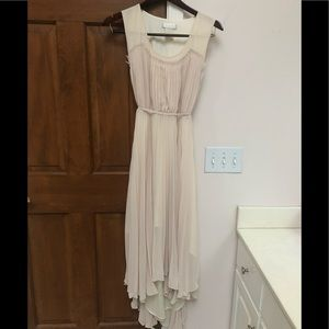 MM Couture by Miss Me cream color dress